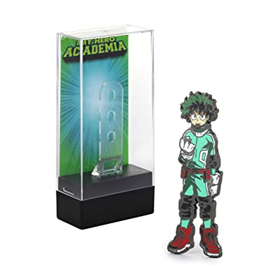 FiGPiN My Hero Academia: Izuku Midoriya (Deku) - Collectible Pin with Premium Display Case: Video Games