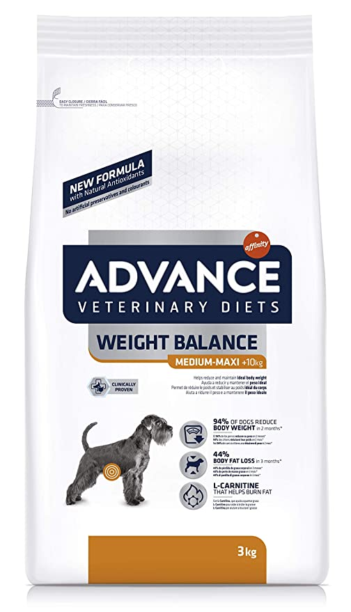 Advance Veterinary Diets Obesity, Comida para perros con tendencia a la obesidad, 12 kg
