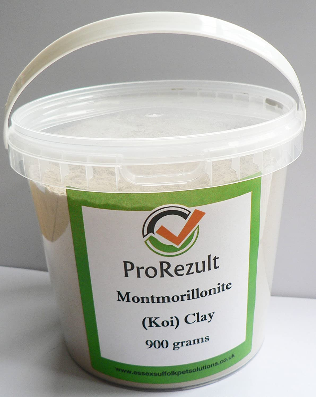 MONTMORILLONITE CLAY KOI POND FISH COLOUR ENHANCER HEALTH TREATMENT ALGAE CLEAR