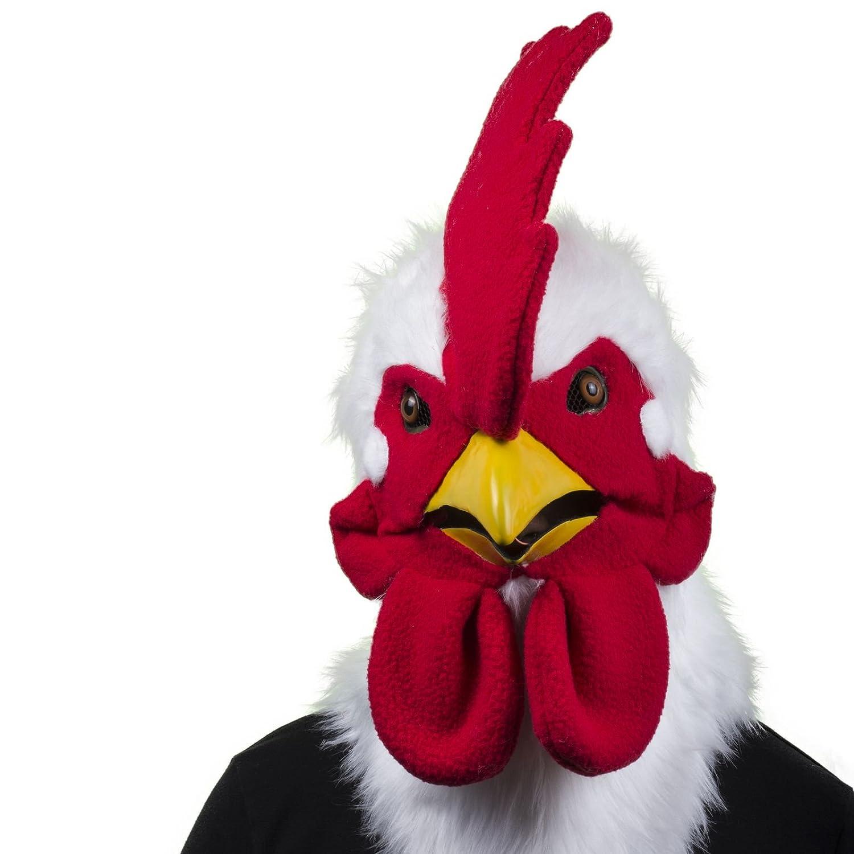 Thumbs Up MRROOSTER - Mr. Rooster - Hahn Maske mit beweglichem Mund