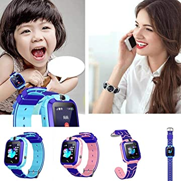 Wildtrest Children Smart Watch SOS Call Location Tracker Student Two-Way Voice Wristwatch Smart Watches