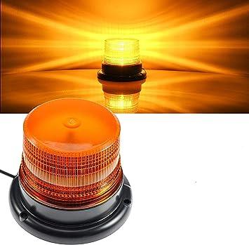 Led Warnleuchte Gelb Rundumleuchte Magnet Orange Led Für Auto Lkw 12v Warnlicht Blinkleuchte Strobe Beacon Light Auto