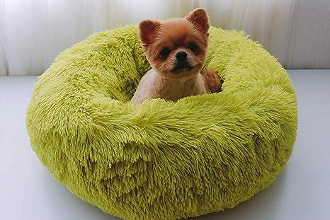 Cama Redonda para Mascotas, sofá, Cama de Felpa con Forma de ...