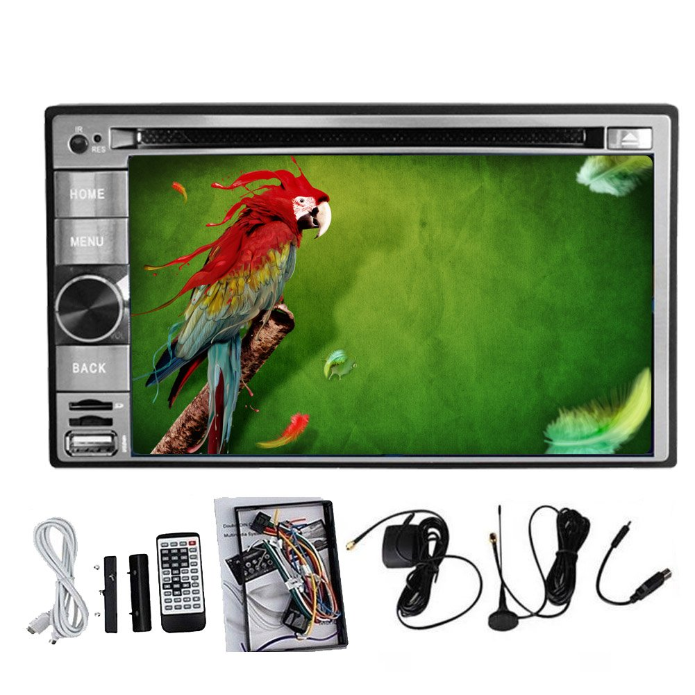 USB/SD Pupug 4.2 Android Car Subwoofer TV Reproductor de DVD ...