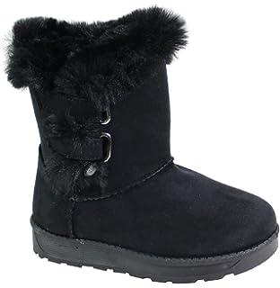62717745d9d5b By Shoes Bottine Fourrée Effet Daim pour Enfant  Amazon.fr ...