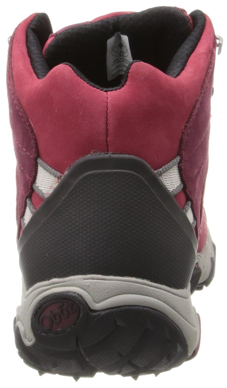 Oboz Women's Bridger B-DRY Hiking Boot Red B00FEAAE8E 8 B(M) US|Rio Red Boot 08b162