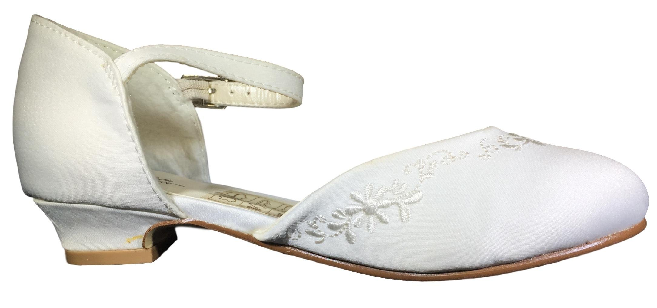 Saugus Girls Shoes Kids Dress Sandal for Wedding and School Event Any Special Occasions #191 (13)