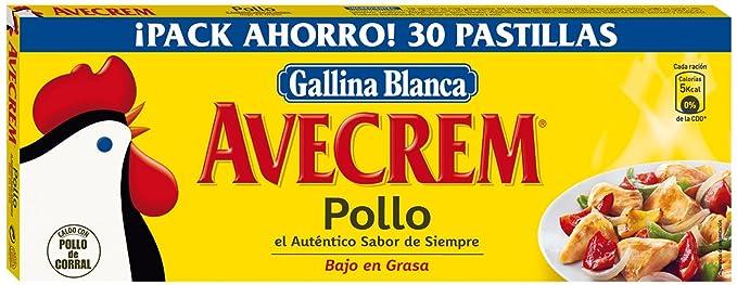Avecrem Caldo De Pollo 30 Pastillas: Amazon.es: Alimentación y bebidas