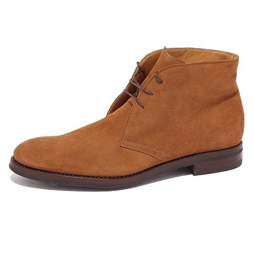 hot sale online 041d4 7b4bb FRANCESCHETTI 6269R Polacchino Uomo Marrone Chiaro Shoe Men ...