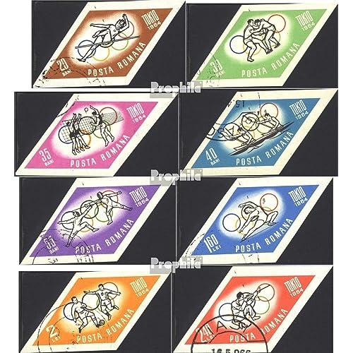 Roumanie 2317-2324 (complète.Edition.) 1964 olympe. Été `64, Tokyo (Timbres pour les collectionneurs)