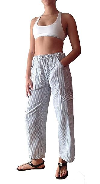 Amazon.com: TINKUY PERU - Pantalones ligeros para mujer ...