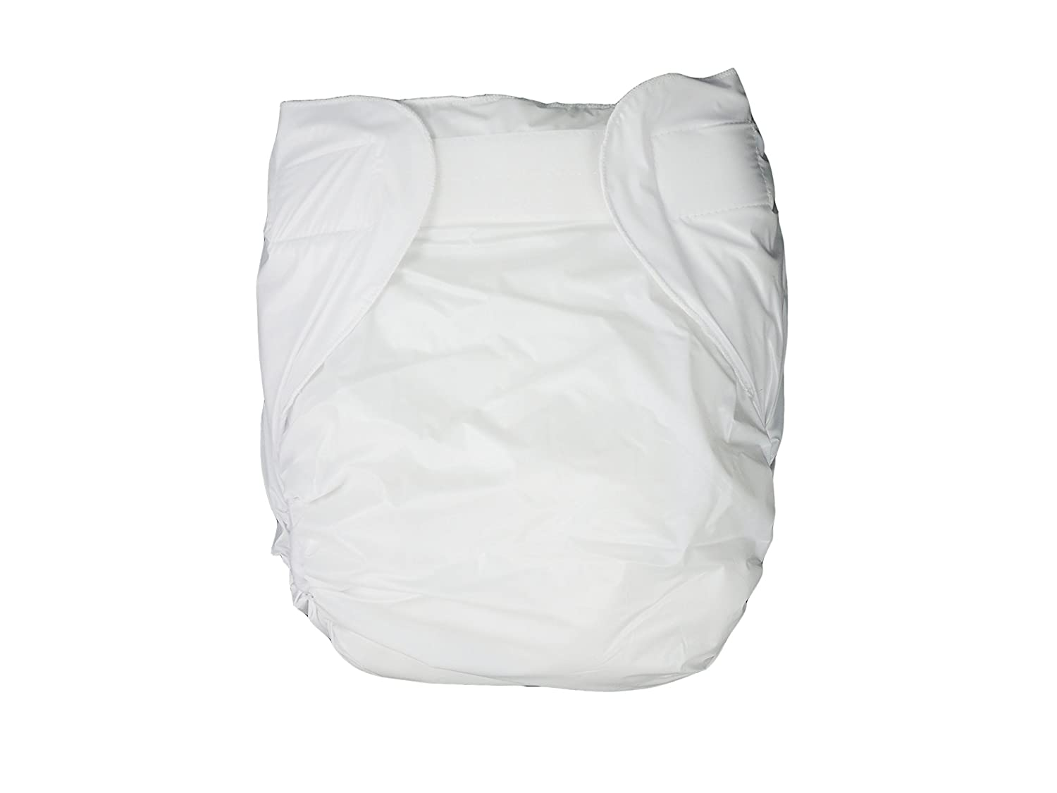 Haian Adult Incontinence AIO velcro PVC Diapers (XLarge, White) Lang Kee