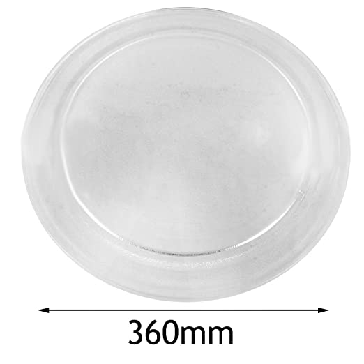 Plato de cristal giratorio y universal para horno microondas, de ...