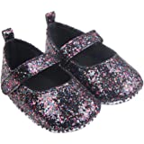 Culater® Ragazza del bambino morbida Sole Presepe scarpe delle scarpe di paillettes Sneaker bambino