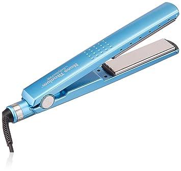 1cee00ccb Chapinha Prancha Profissional Nano Titanium Até 450ºf Azul: Amazon ...