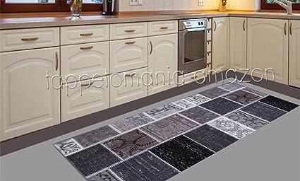 Arredo Carpet Chenille Rapsody Passatoia Tappeto moderno da cucina ...