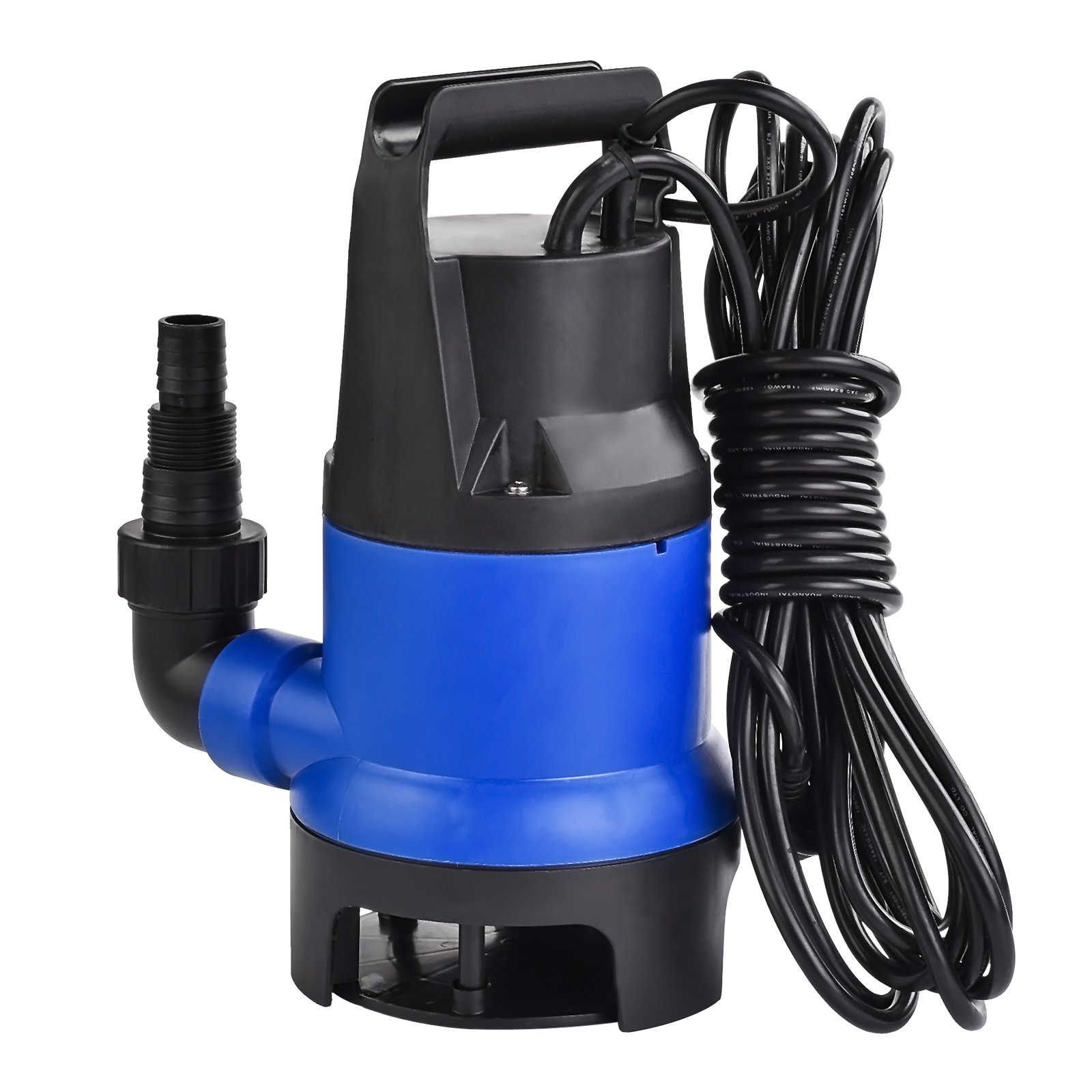 Murtisol 1/2 HP 1980GPH 400W Submersible Water Pump 7500L/H Clean Dirty Water Transfer for Garden Pool Outdoor by Murtisol