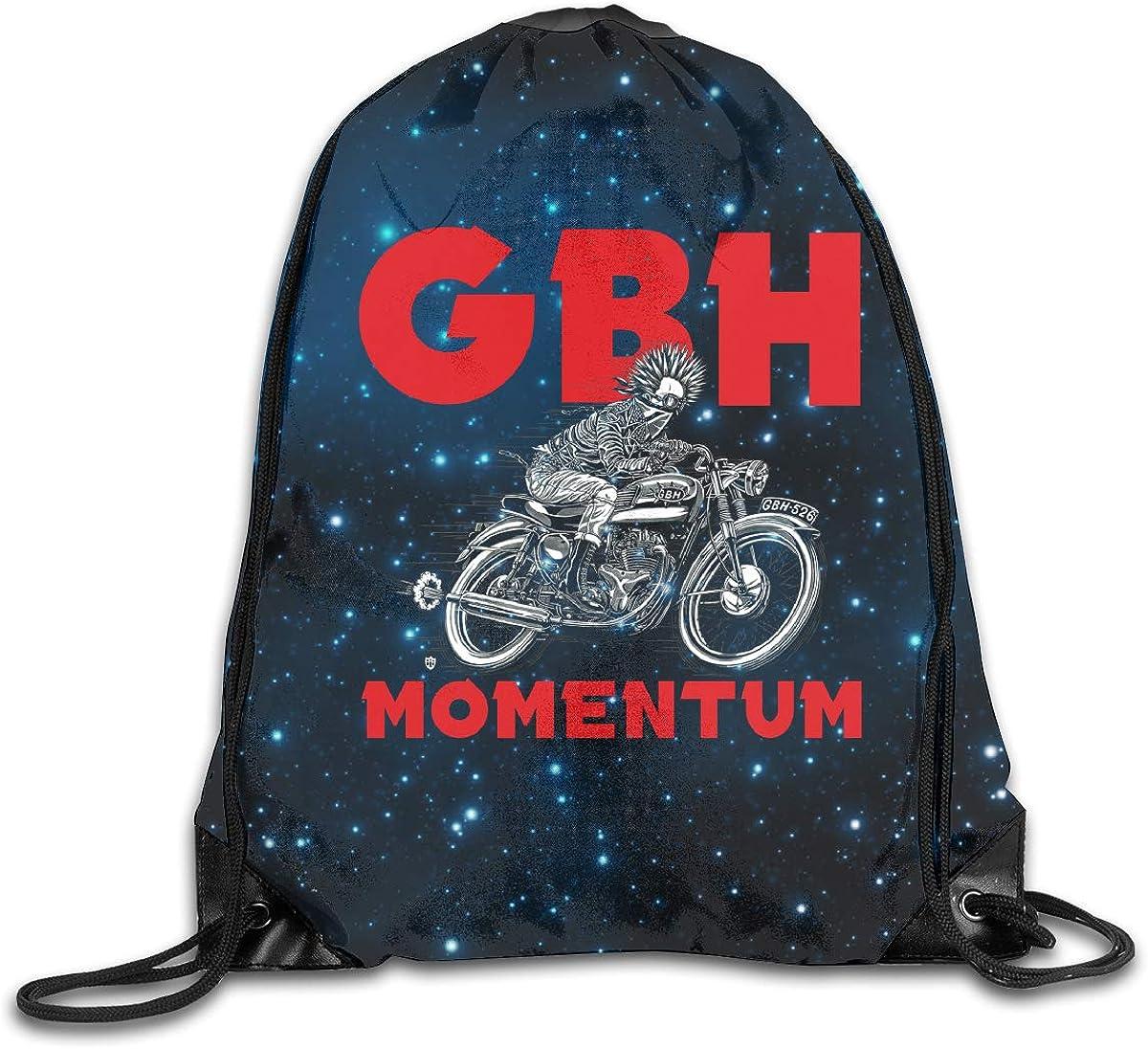CAOI UUC GBH Momentum Gym Drawstring Backpack Cinch Sack