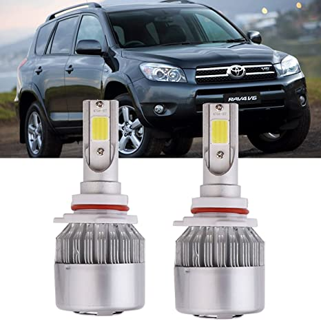 Amazon.com: 9006 HB4 LED Headlight Bulbs for Toyota Camry RAV4 Avalon Corolla Matrix 4Runner: Automotive