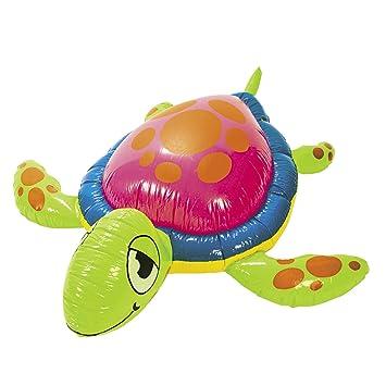 Aufblasbare Schildkröte See-Schildkröte ca Kinderbadespaß 152cm Durchmesser Beachparty
