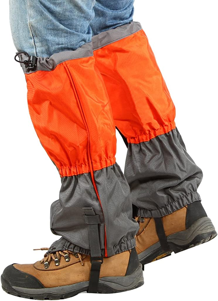 Campeggio Escursioni FLAMEER Ghette di Scarpe Neve Legging Ghette Impermeabili per Passeggiate Arrampicata