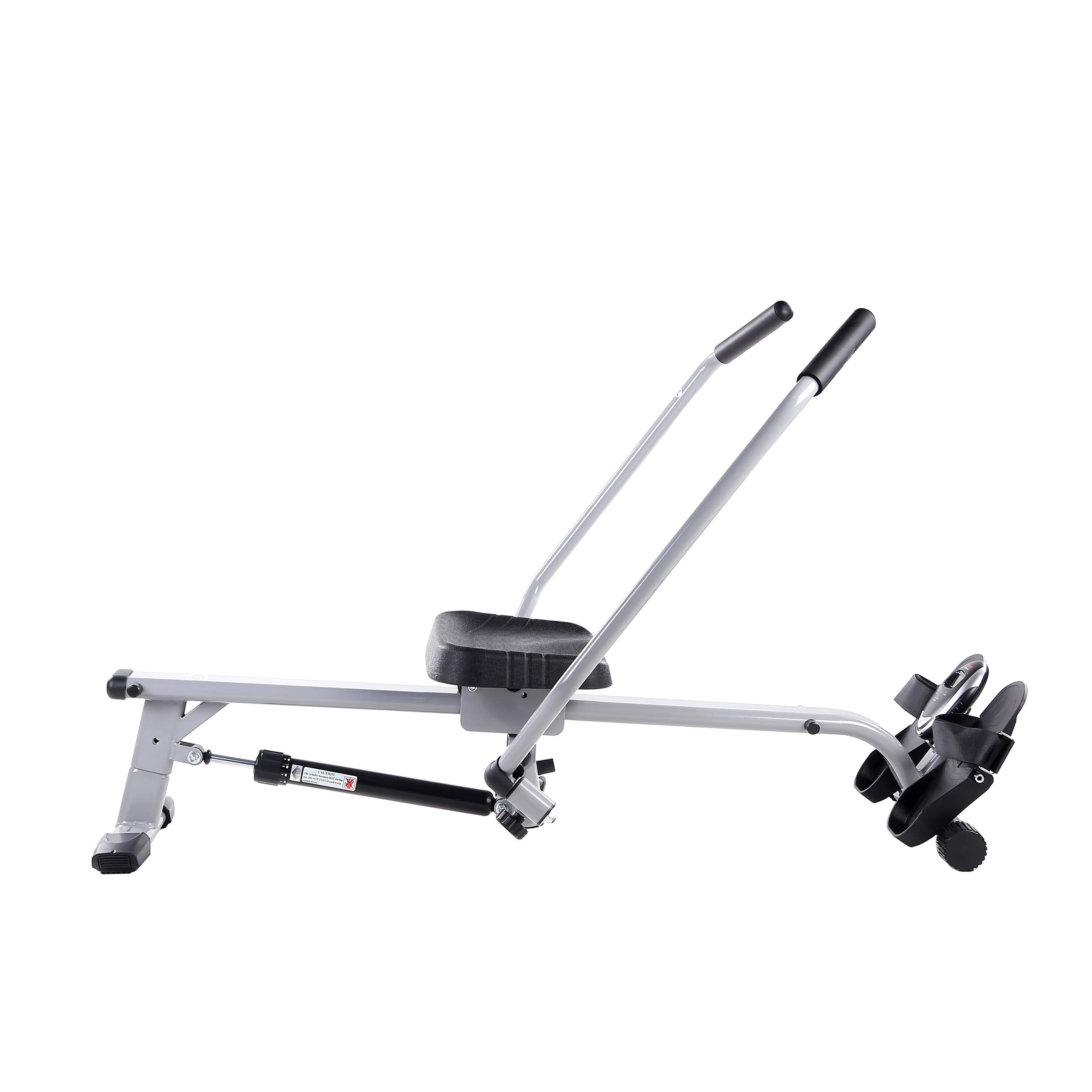 Sunny Health & Fitness SF-RW5639 Full Motion Rowing Machine Rower w/ 350 lb Weight Capacity and LCD Monitor by Sunny Health & Fitness (Image #4)