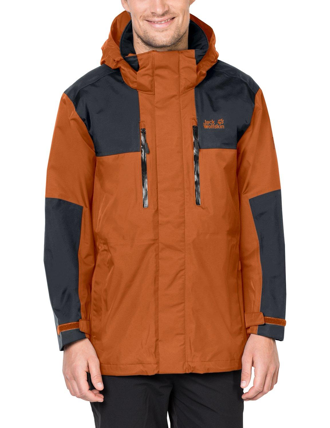 2e65ae7a096 Galleon - Jack Wolfskin Men's Jasper Flex Jacket, 3X-Large, Desert Orange
