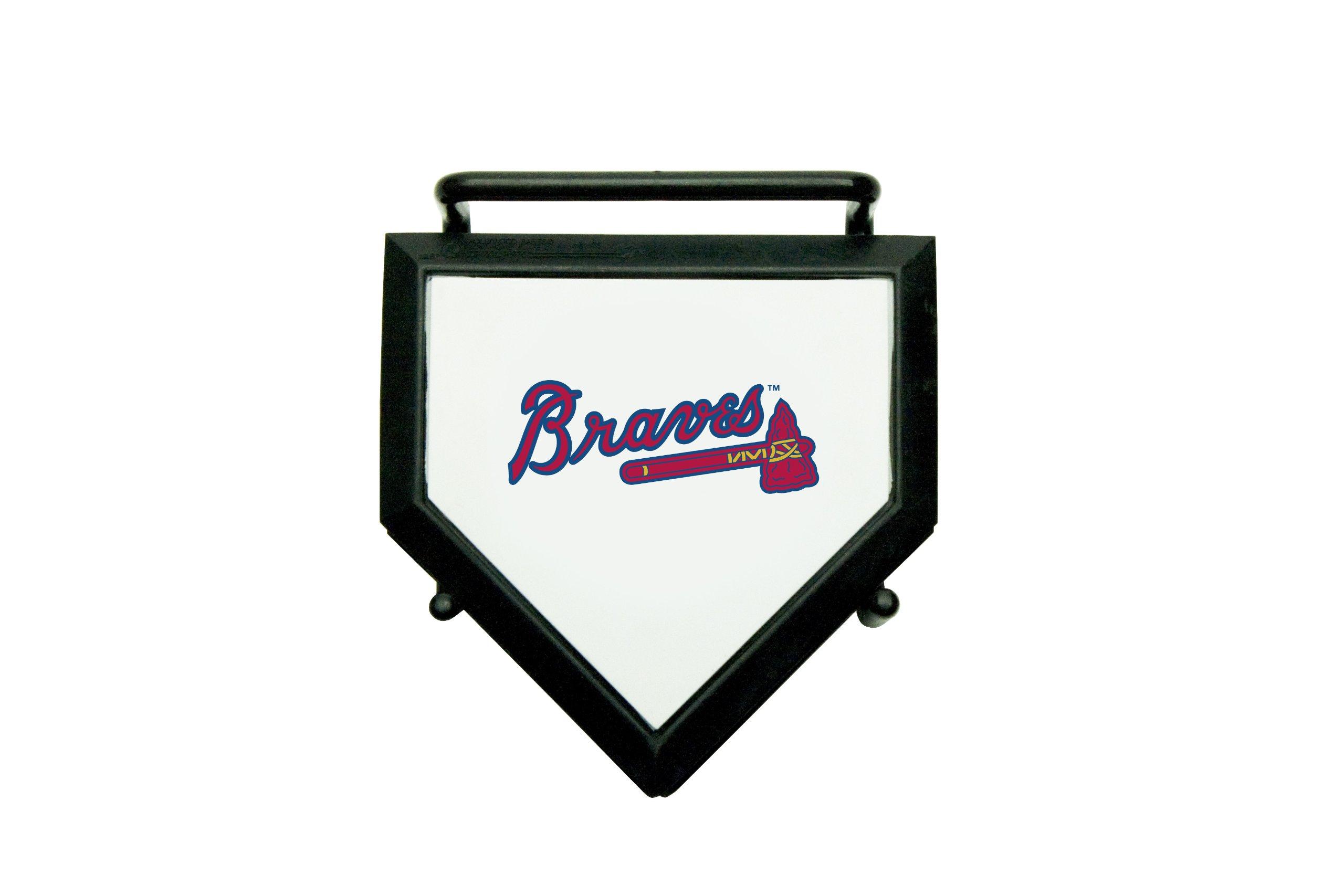 MLB Atlanta Braves Home Plate 4-pack Coaster Set