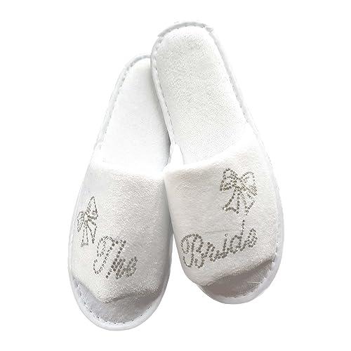 Desconocido Generic - Zapatillas de Estar por casa para Mujer Blanco Blanco: Amazon.es: Zapatos y complementos