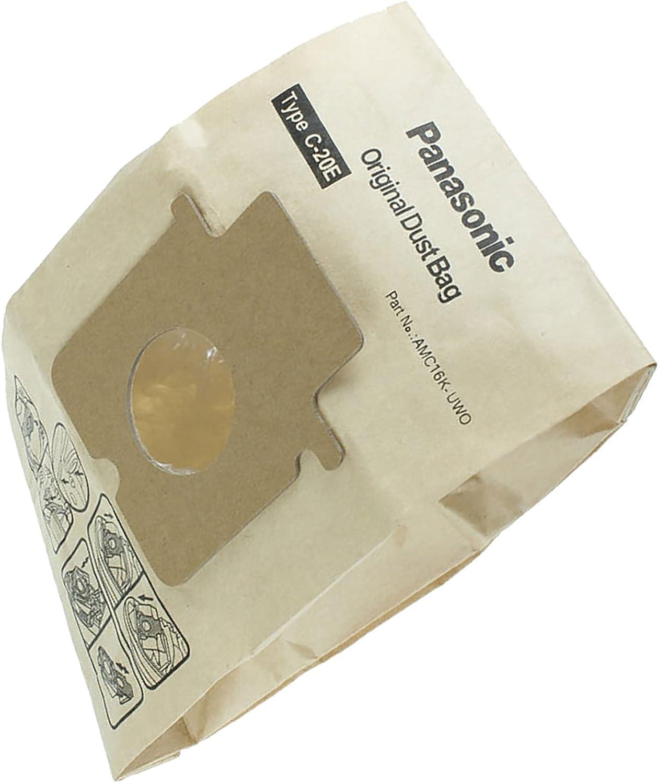 Dust Bags for Panasonic MC-E7001 MC-E7002 MC-E7010 Pack Of 10 C-20E Type