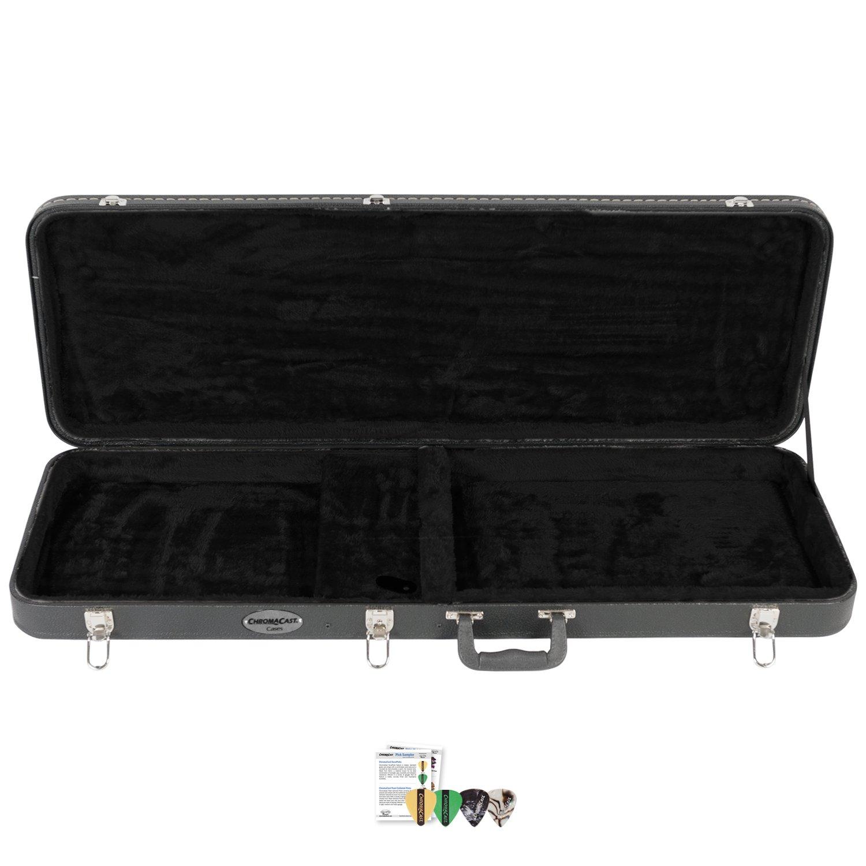 ChromaCast CC-EHC-KIT-3 Electric Guitar Hard Case with Pick Sampler