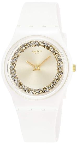 Swatch Reloj Analógico para Hombre de Cuarzo con Correa en Silicona GW199: Amazon.es: Relojes