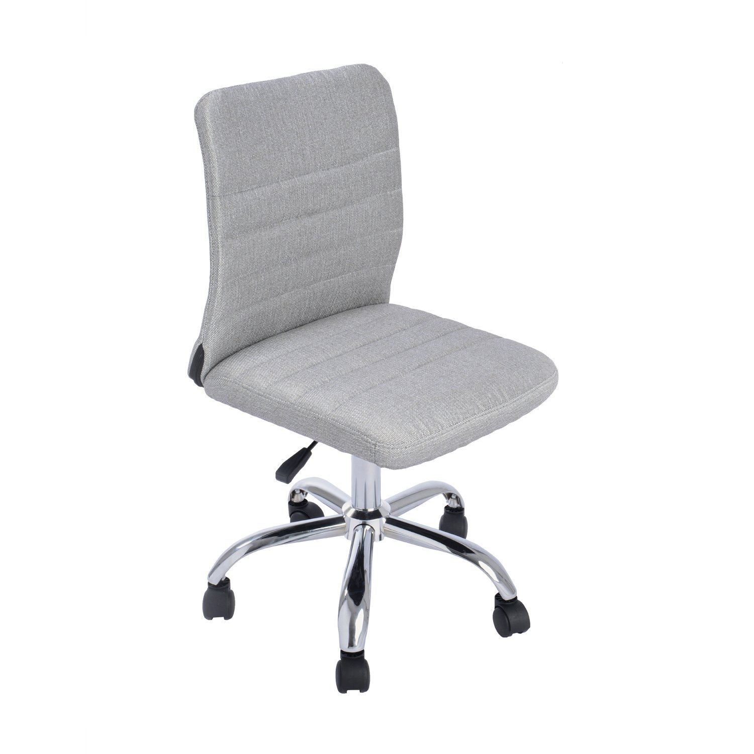 office chair fabric upholstery. amazoncom greenforest ergonomic mid back armless adjustable chair with fabric upholstery grey kitchen u0026 dining office g