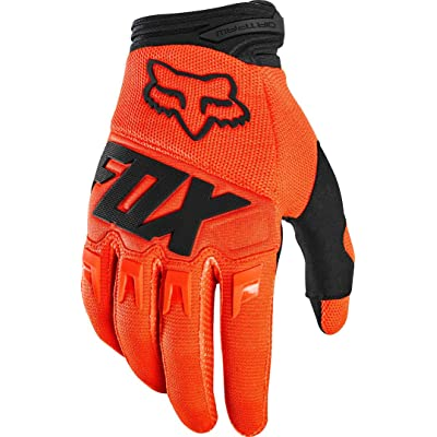 2020 Fox Racing Youth Dirtpaw Race Gloves-Flo Orange-YXS: Fox Racing: Automotive