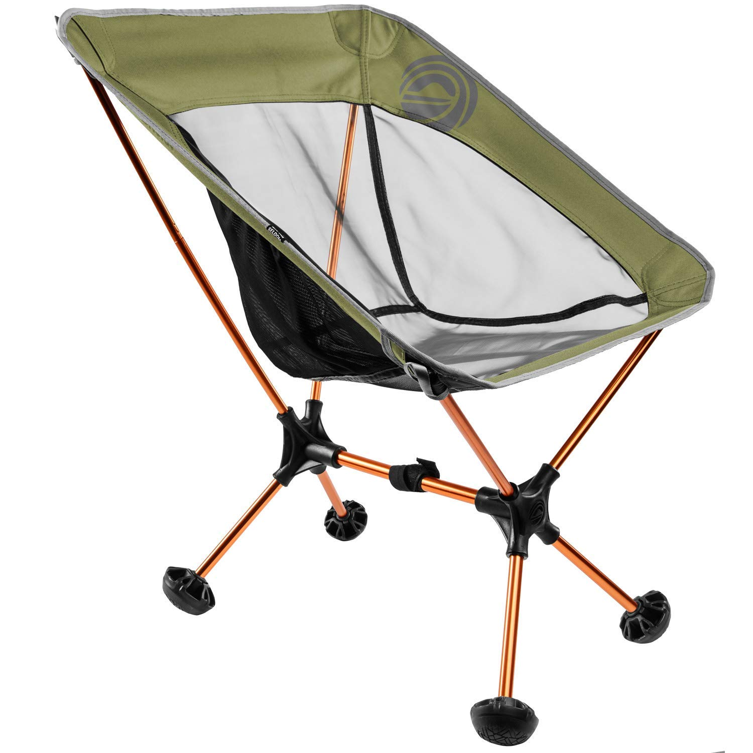 Terralite Portable Camp Chair. in Perfect For Camping, Chair. Beach, Sink Backpacking & Outdoor Festivals. Compact & Heavy Duty (Supports 300 lbs). Includes TerraGrip Feet- Won't Sink in the Sand or Mud. [並行輸入品] B07R3Y5W7T, アクセサリーCoralBlue:50169b2f --- anime-portal.club
