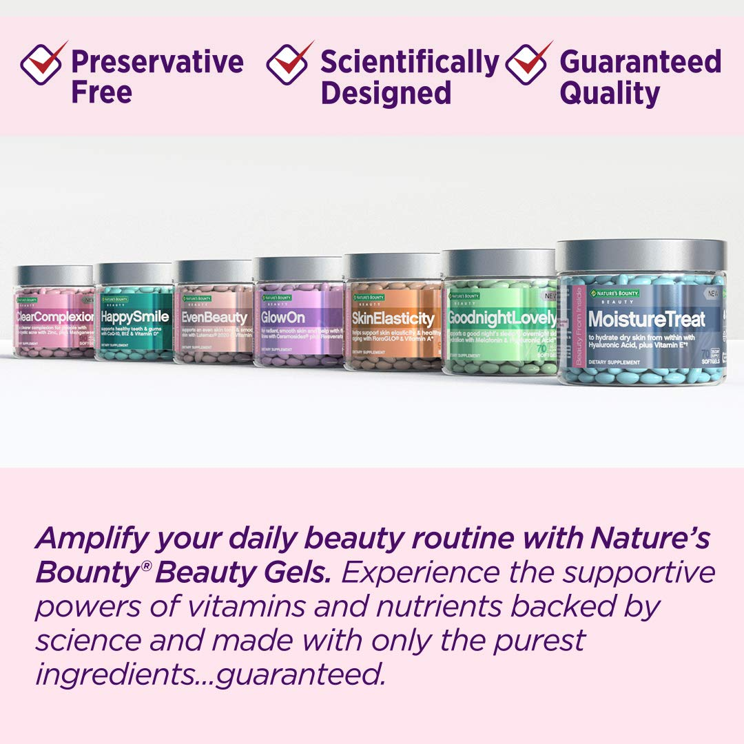 Amazon.com: Natures Bounty ClearComplexion Multivitamins, with Zinc + Manganese, for a Clearer Complexion for People with Non-Cystic Acne*, 90 Softgels: ...