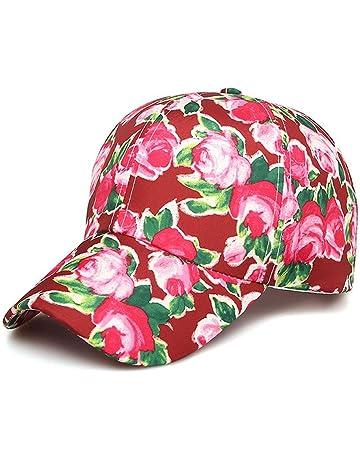 Eillybird Gorras béisbol algodón Gorras de béisbol Casual Gafas UV Tapa  Puntiaguda Sombrero de Sol Ajustable 80d49a42800