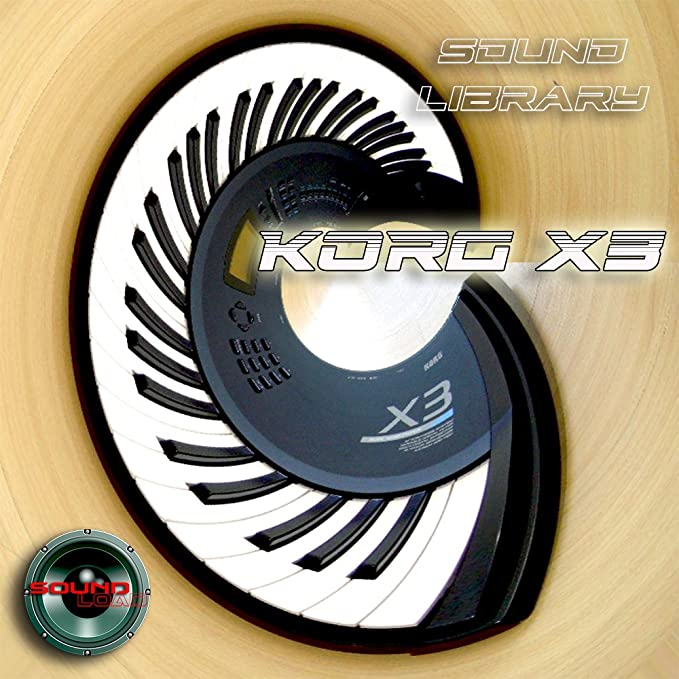 Korg X3/x3r - Large original Factory & New crea Ted Sonido Library/Editors on CD or Download: Amazon.es: Instrumentos musicales