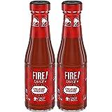 Taco Bell Fire Sauce Glass Bottle, 7.5 OZ