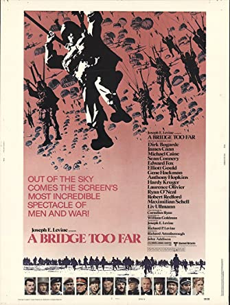 a bridge too far 1977 poster