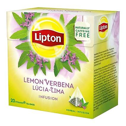Lipton VERBENA (Infusión Herbal) - 20 bolsas de té x (Pack ...