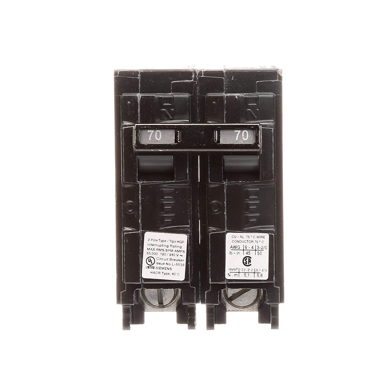 Q270HH 70-Amp Double Pole 65kA Type HQP Circuit Breaker Siemens HI