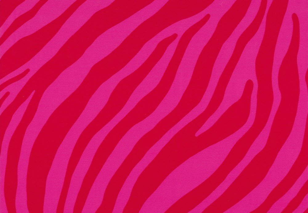 Klebefolie Möbelfolie Zebra pink rot 45 cm x 200 cm Dekorfolie selbstklebend