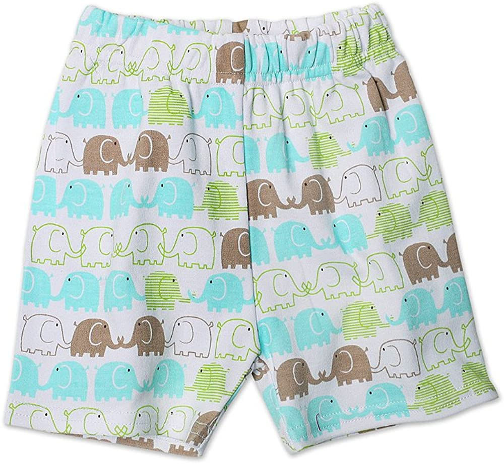 Zutano Elephants Shorts