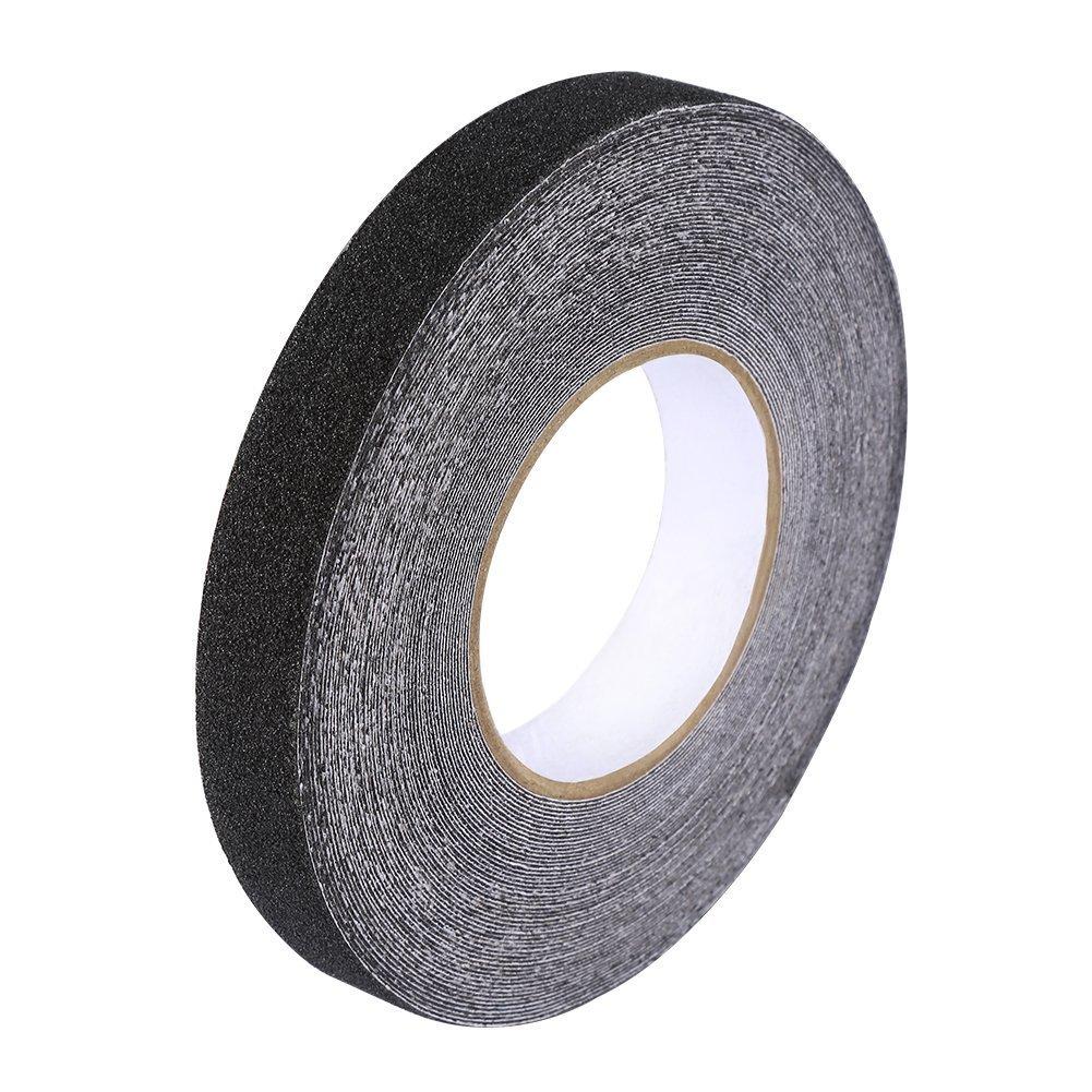 Yosoo PVC Ruban Adh/ésive Isolant 2,5cm 20m Bandes adh/ésives Antid/érapant Forte Force dadh/érence Bandes de s/écurit/é Haute Tension Noir