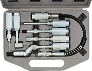 ABN Lube Accessory Kit 7-Piece – for All Types of Grease Lubrication Applications, Fits All Grease Couplers/Grease Guns