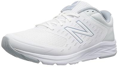 buy popular 43811 7cd4b New Balance Women's 490v5 Responsive Running-Shoes,White/Light Cyclone,5 D  US