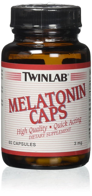 Amazon.com : Twinlab Melatonin Caps -- 3 mg - 60 Capsules : Medicinal Sleep Aids : Beauty
