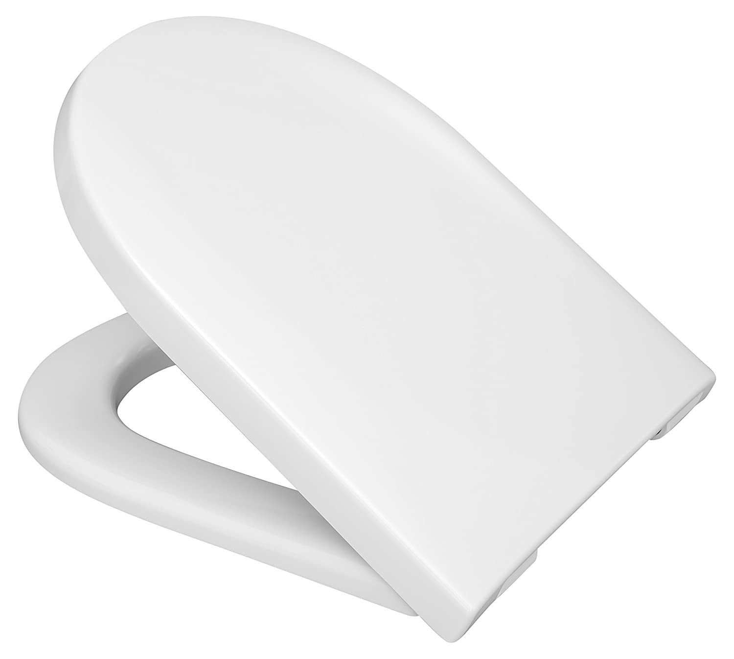 Hinged Folding Pegs C4302G Haro Tube SoftClose Premium Toilet Seat Omnia Architectura Compatible with V/&B Subway I Sunberry White 519740