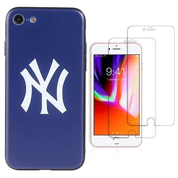 wholesale dealer dfe1d f72b2 Amazon.com: Sportula MLB Phone Case matching 2 Premium Screen ...